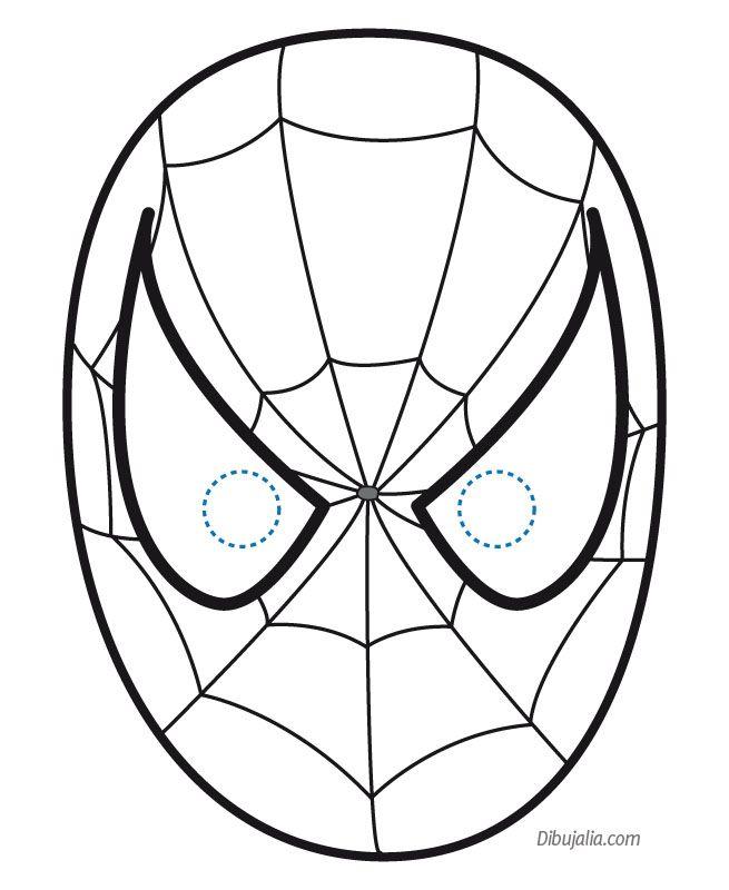 hombre araña para pintar e imprimir - Buscar con Google ...