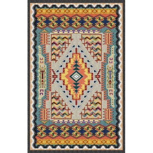 Pure Country Weavers Southwest Turquoise Tapestry Wall