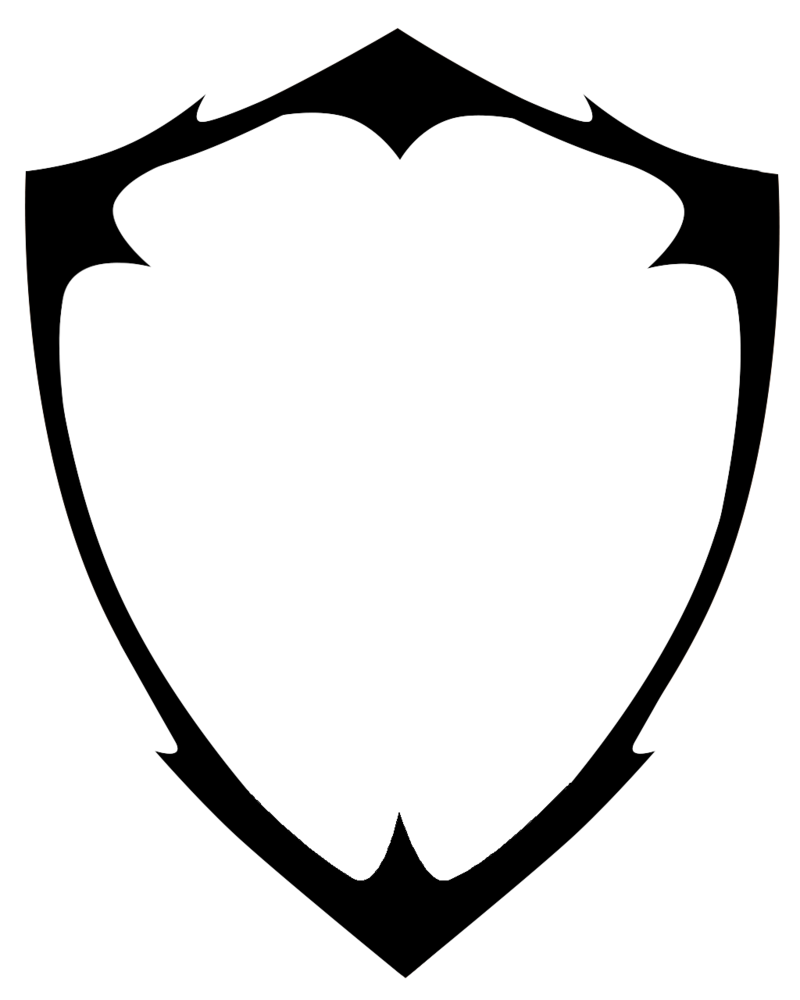 8f43c648f3b92 Free Blank Shield Logo Vector PNG Vector, Clipart, PSD - peoplepng.com  Shield