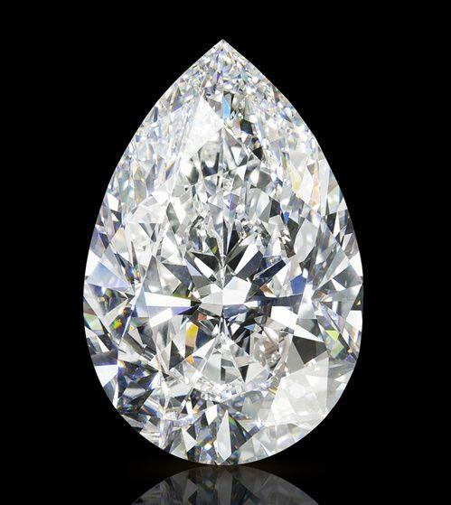 Le diamant Graff Vendôme