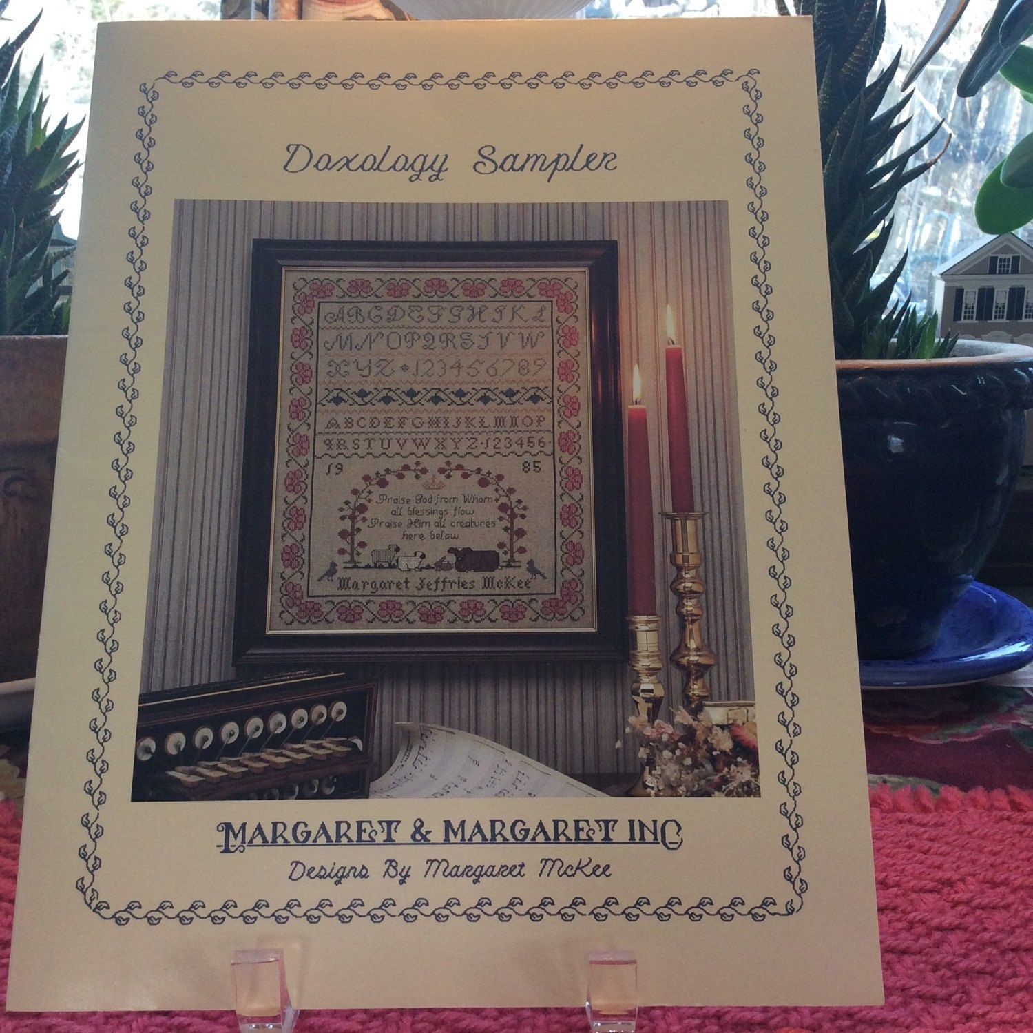 Margaret and Margaret Doxology Sampler Cross Stitch by TheLavenderPathHome on Etsy