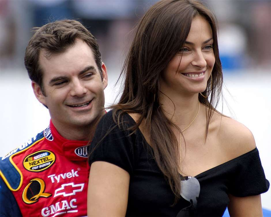 Wag Of The Week Ingrid Vandebosch Wife Of Jeff Gordon Jeff Gordon Gordon Actresses