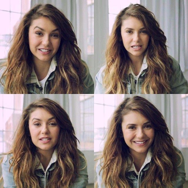 Her smile #thevampirediaries #stefan #elena #katherinepierce #damon #salvatore #ninadobrev ...
