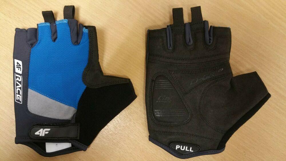 WARRIOR Summer Mesh GEL 4FRace Light Weight Cycling Gloves Grippy 3M HiViz Glove