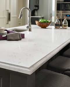 Wilsonart Quartz Countertop Surfaces Are Tough And Durable U2013 With A Surface  That Is Both Stain And Scratch Resistant, And Nonporous, So It Never Needs  To Be ...