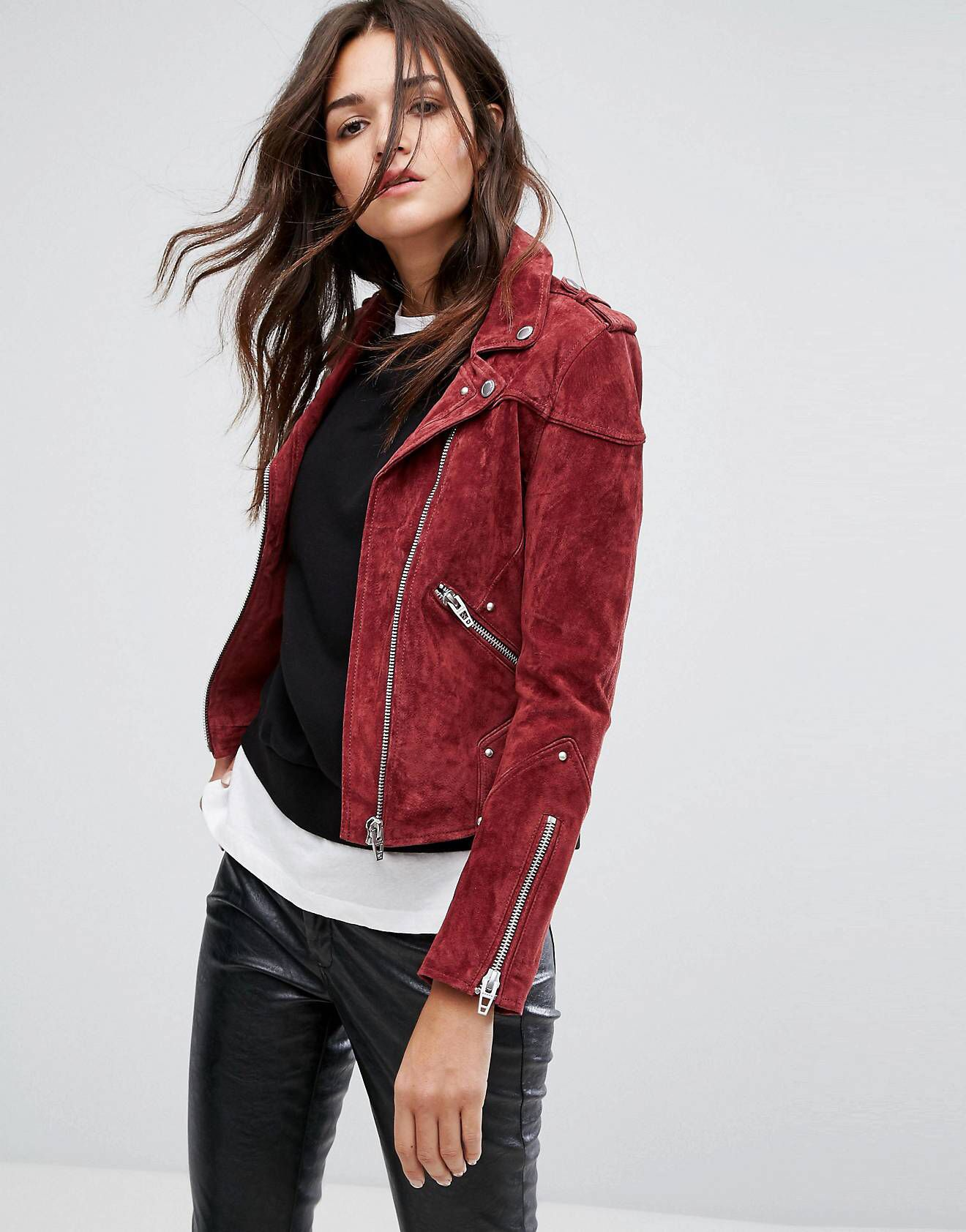 LOVE this from ASOS! Leather jackets women, Leather