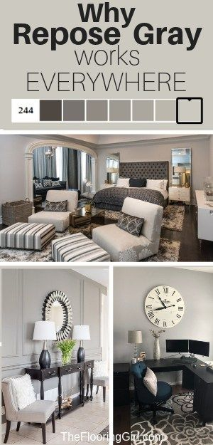 Repose Gray From Sherwin Williams Sw7015 Fabulously