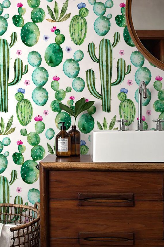 Pin by Shanele on Home Design Pinterest Cactus print, Adhesive