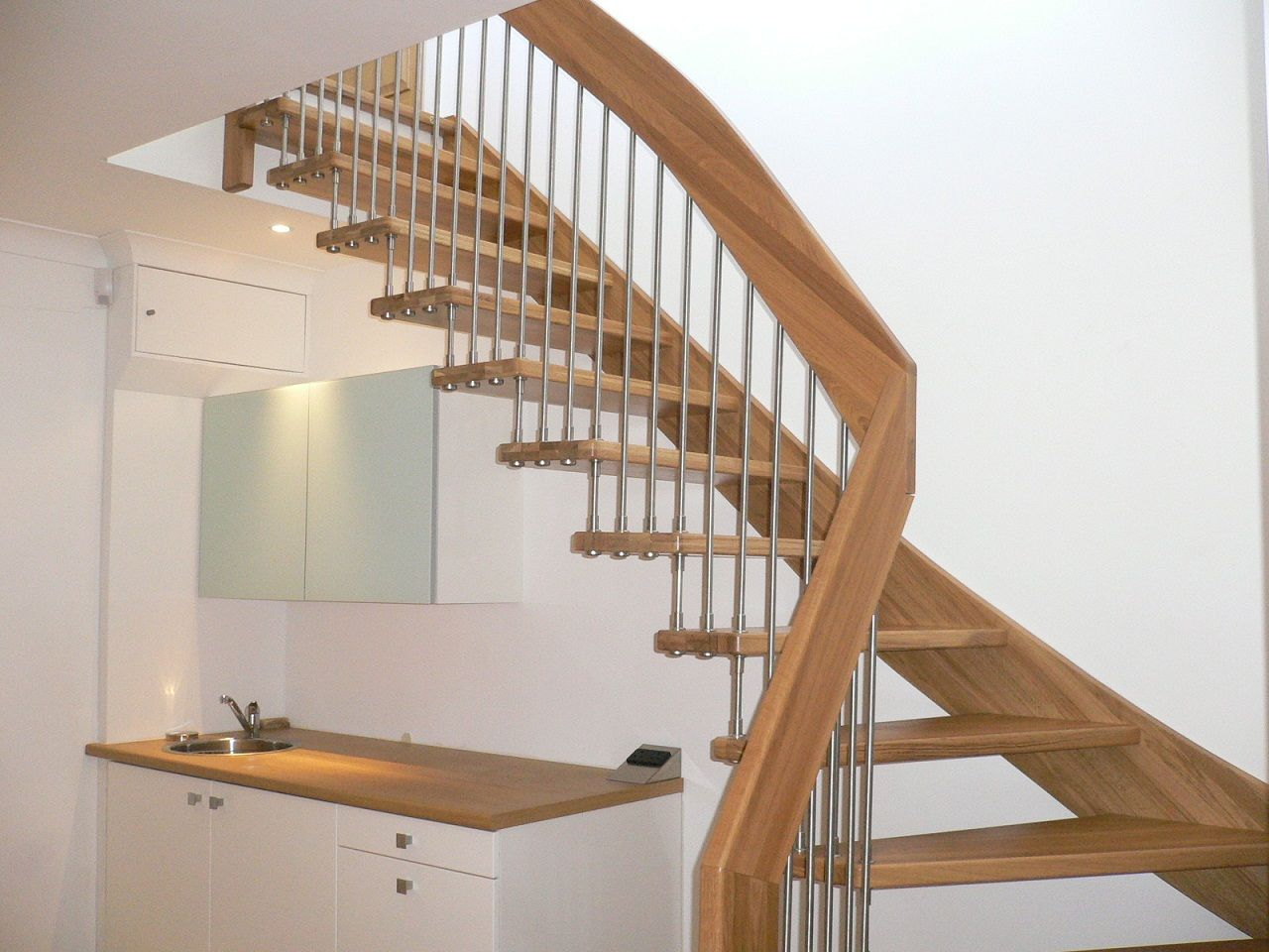 A Collection Of Amazing Staircase Design Ideas : Unique Modern Timber Wooden  Staircase Design Inspiration For Awesome Interior Design