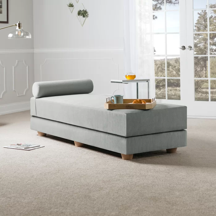 Mercury Row Lolotoe Convertible Queen Solid Wood Daybed