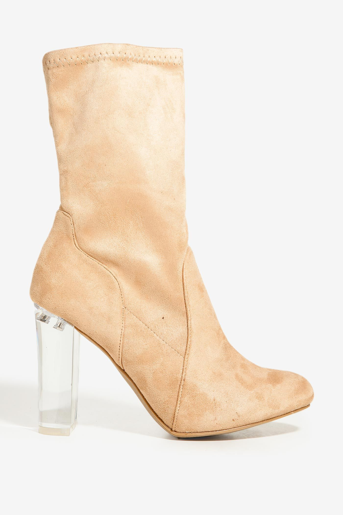Women's Booties | Crystal Clear Bootie | A'GACI