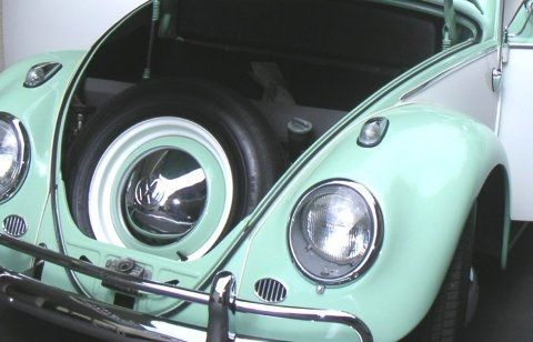 Restored Original Black Plate 62 Volkswagen Bug Volkswagen Bug Volkswagen Old Bug