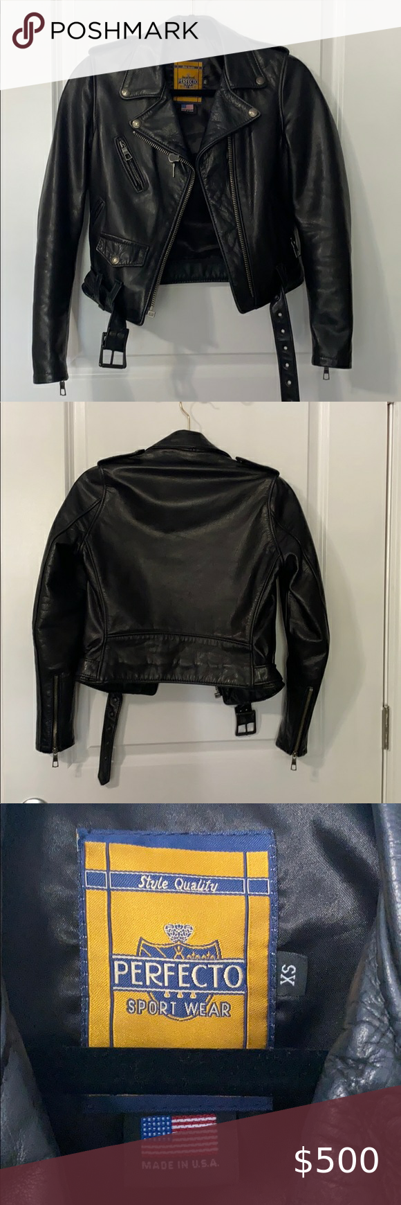 Schott Nyc Leather Jacket Schott Genuine Leather Jacket Runs Small Feel Free To Message For Questions Or More Leather Jacket Jackets Genuine Leather Jackets [ 1740 x 580 Pixel ]