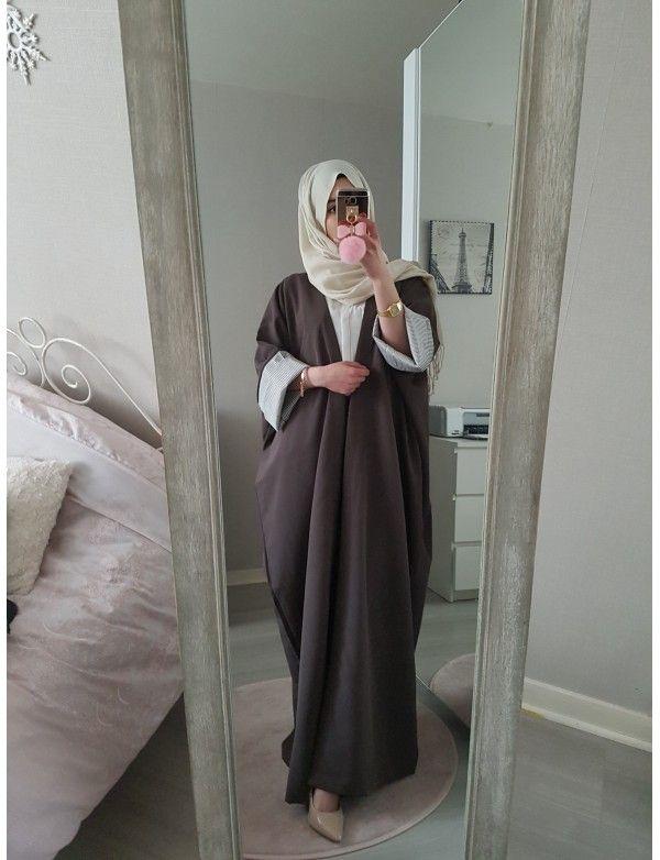 Creation Abaya Alysa Noir Hijab Fashion Fashion Abaya Fashion