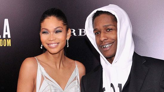 Are Chanel Iman and A$AP Rocky engaged?