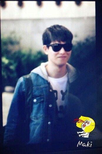 Jonghyun at Gimpo Airport