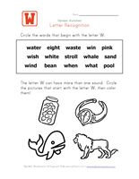 Letter Recognition  Identify Words  Kids Learning Station