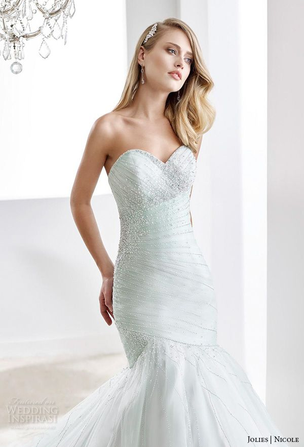 Nicole Jolies Collection 2016 — Colored Wedding Dresses | Colored ...