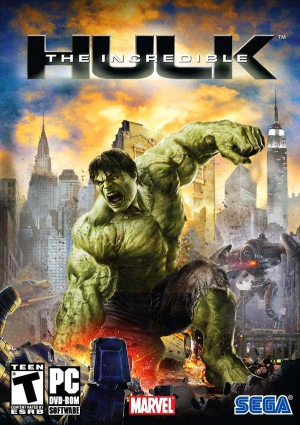 The Incredible Hulk Game DVD Cover Games To Download Free