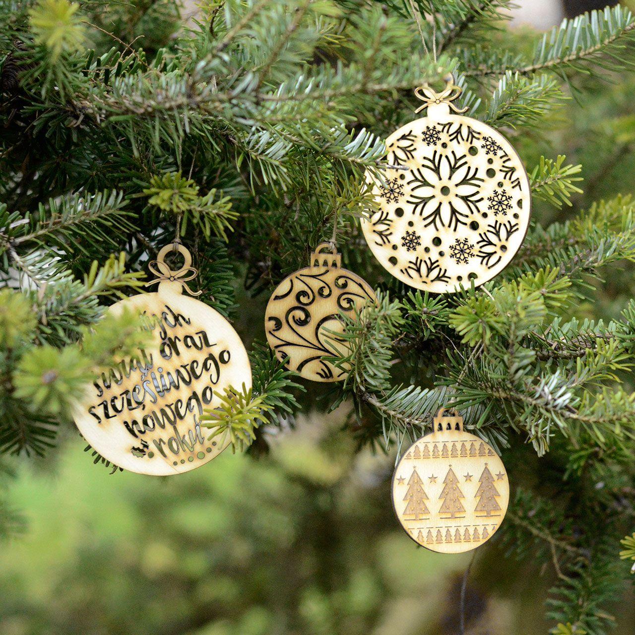 Bombki Na Choinkę świąteczne Ozdoby I Bożonarodzeniowe