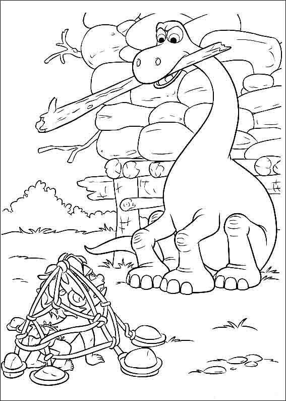 the good dinosaur coloring pages 11 - Disney Dinosaur Coloring Pages