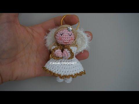 Tutorial Angioletto Amigurumi : MuÑeca amigurumi comunion tutorial youtube oyuncaklar