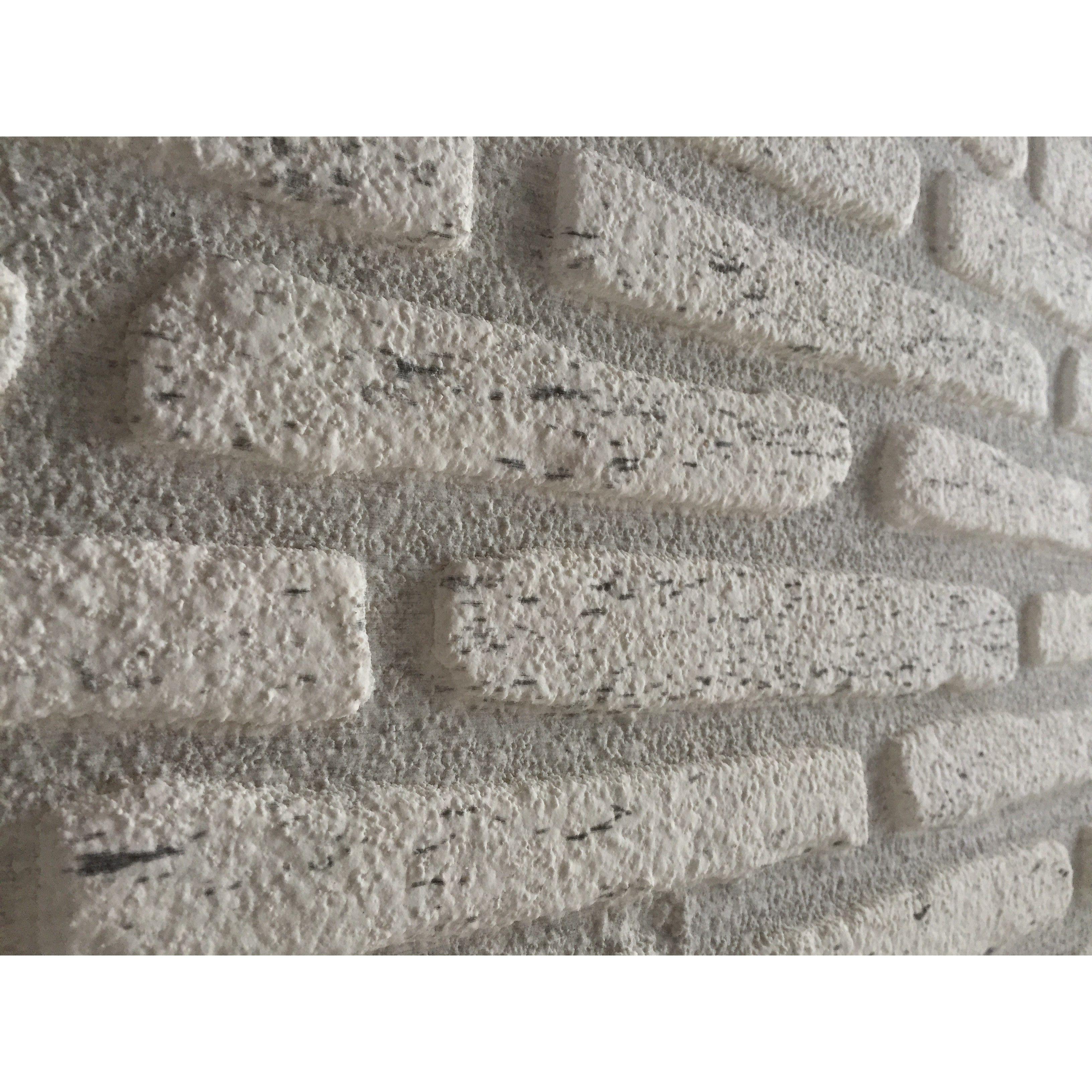 Trendline Fine Weiß - Styropor-Paneele - Steinwand - Mosaixx ...