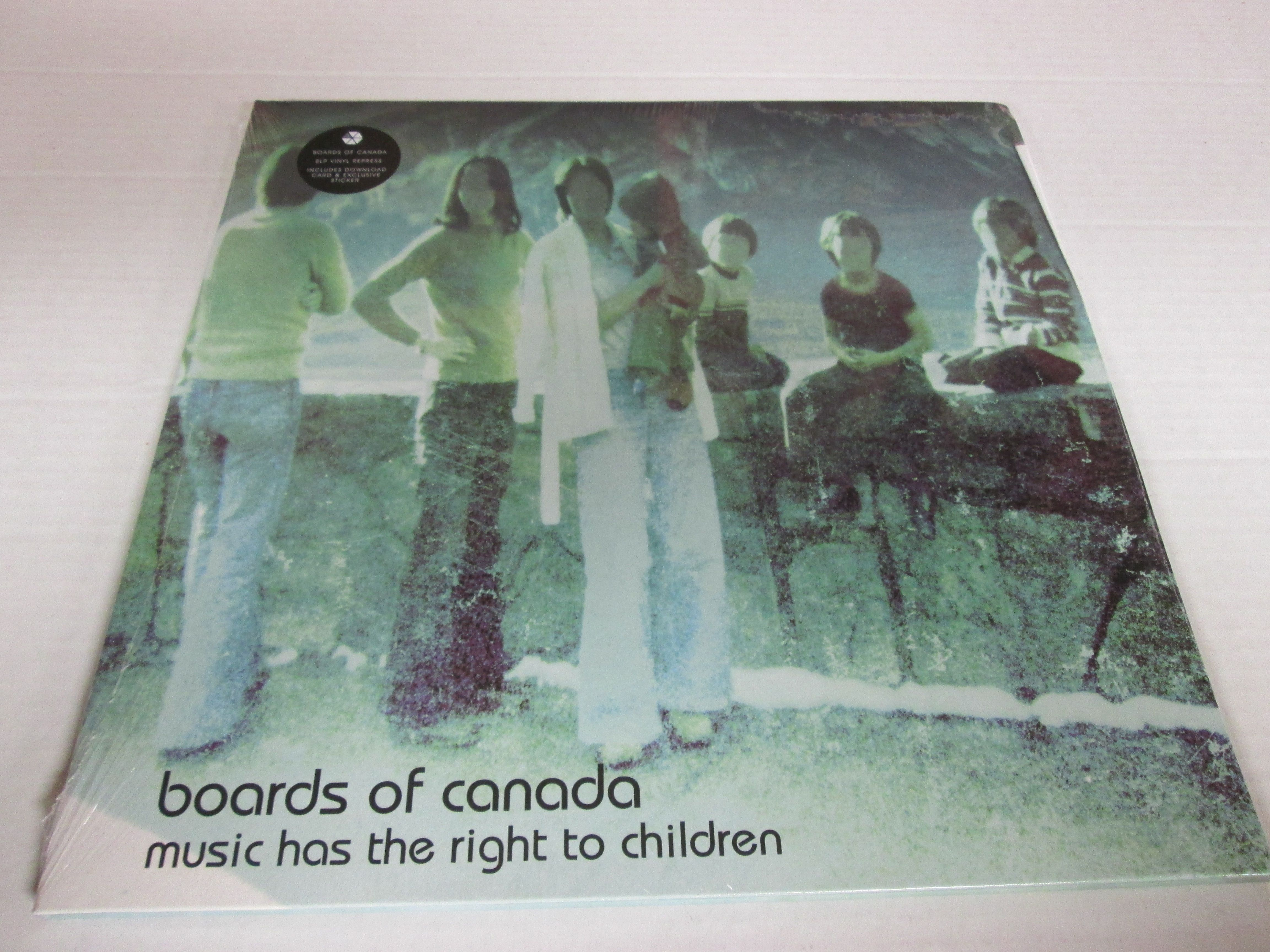 Boards Of Canada Music Has The Right To Children Finally Back In Print Vintage Vinyl Records Vinyl Records Boards Of Canada
