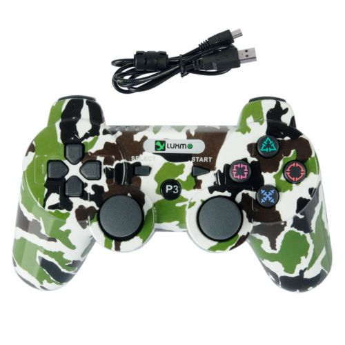 Camouflage Green Wireless Bluetooth Game Controller Gamepad f Sony PS3 Free Ship https://t.co/L1SSKEvSQ1 https://t.co/oYbUyvHYSU