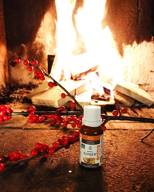 Hocheffiziente Bio-Ingwertropfen GINJER® Forte von Lemon Pharma