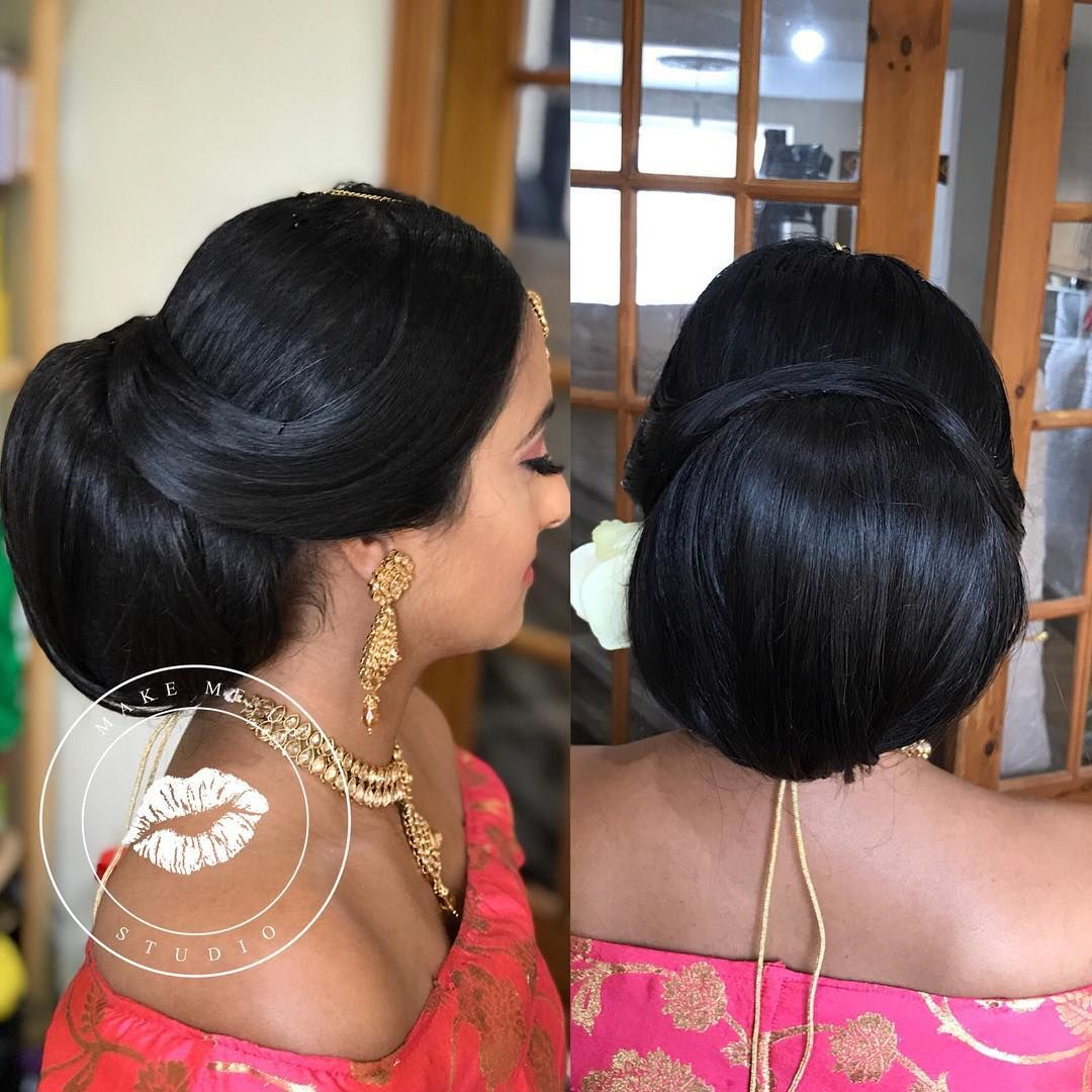 Hairstyle For Brothers Wedding: Rupa #madeup For Her Brothers Wedding! Hairstyle Achieved