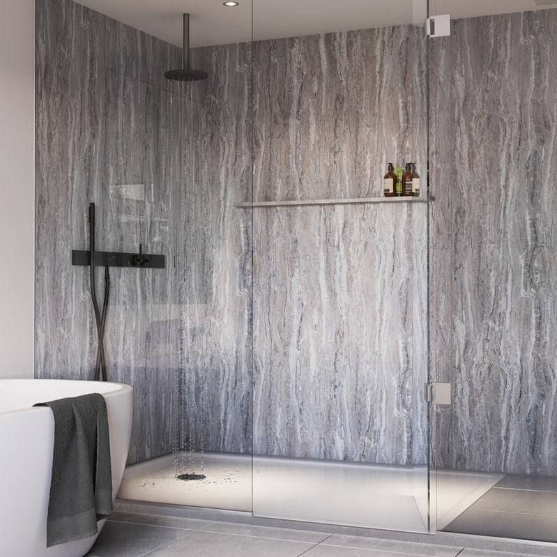 Grey Shower Wall Panels Shower Wall Panels Waterproof Shower Wall Panels Bathroom Wall Panels
