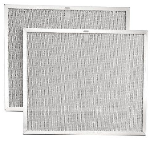 Broan Bps2fa30 Aluminum Replacement Filters For 30 Inch Qs2 And Ws2 Range Hoods 2 Pack By Broan 25 26 F Broan Improve Indoor Air Quality Replacement Filter