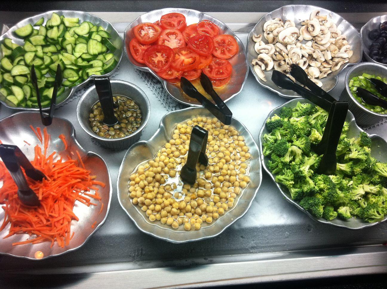 Salad Bar At Ruby Tuesday Food Food To Go Healthy Food Options