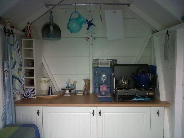 Image result for beach hut interior beach hut for Beach hut interiors