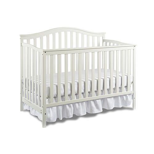 Nursery Basics Convertible Crib White Babies R Us Babies R