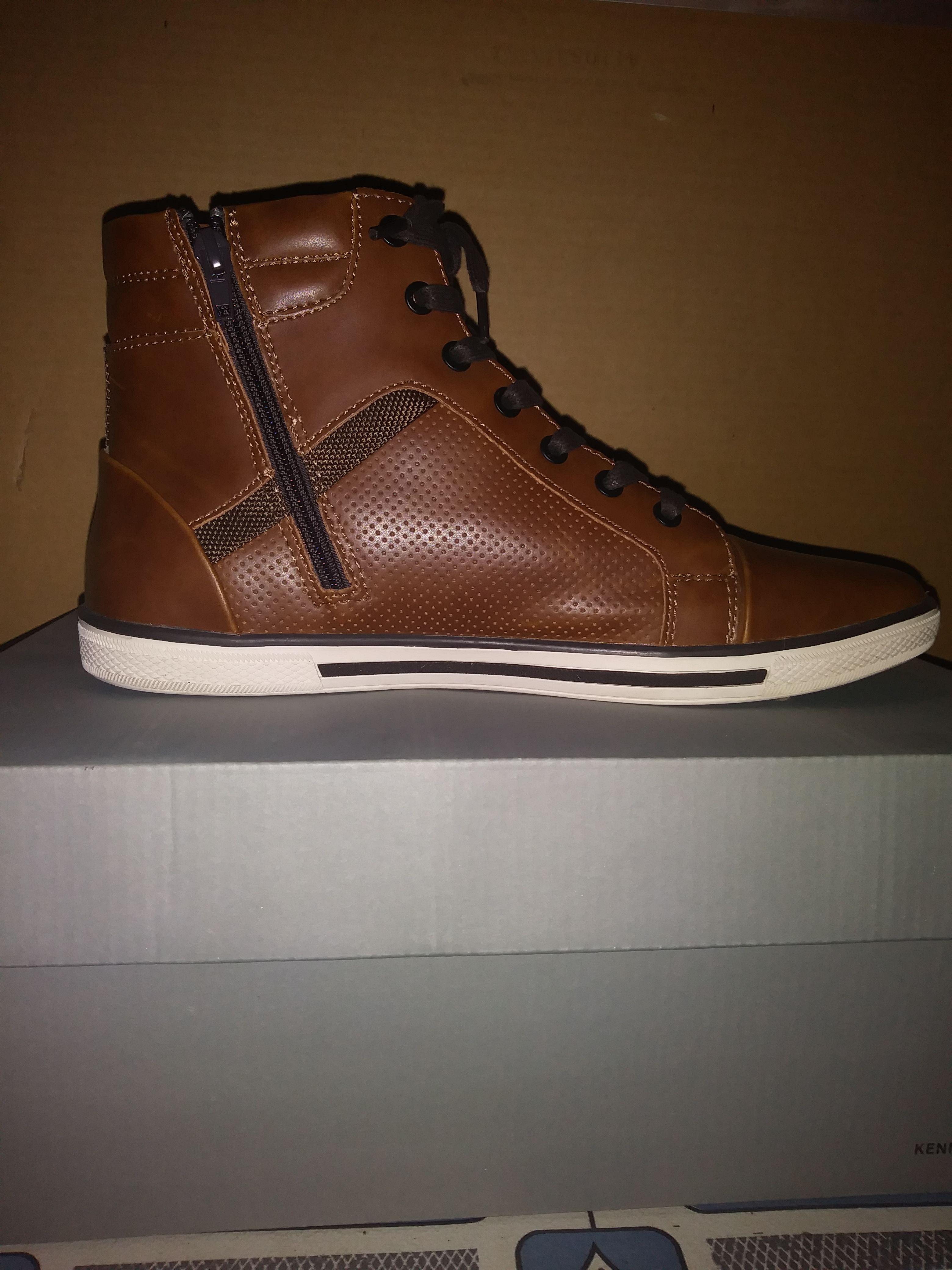 Crown Up Sneaker Colour- Cognac