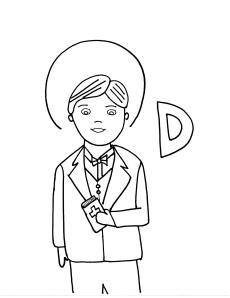 D Is For St Dominic Savio Catholic Kids Catholic Saints Saint