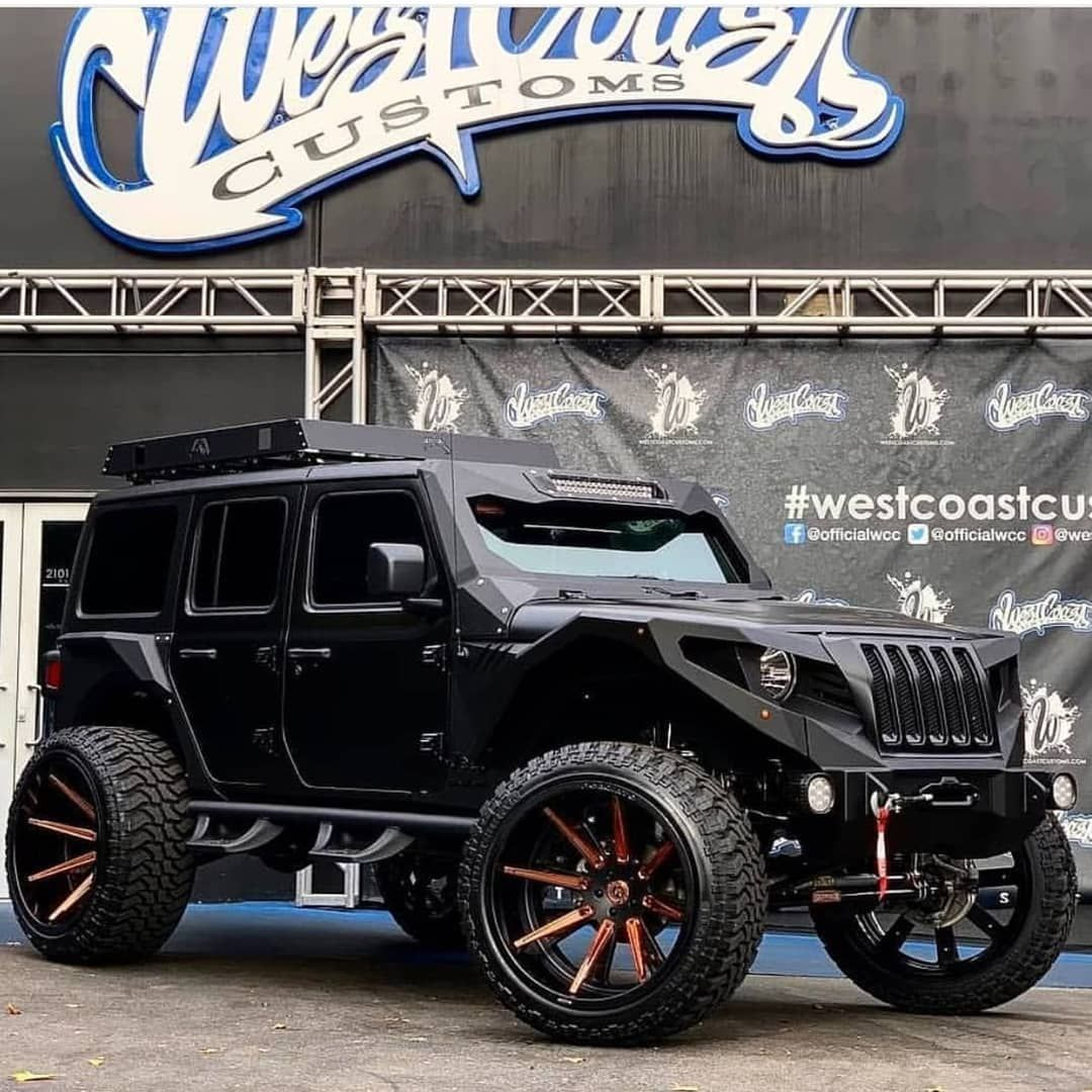 Via Westcoastcustoms Jk Jeep Wrangler Offroad Red