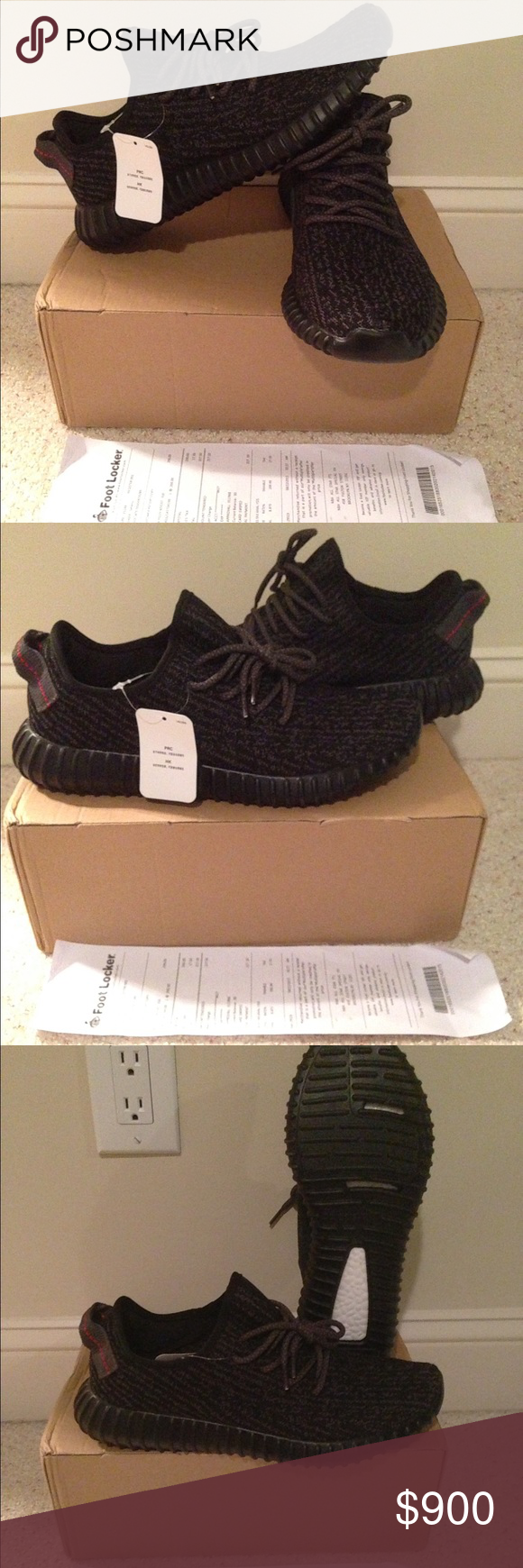 yeezy boost 350 pirate black 9.5 adidas eqt support 93/17