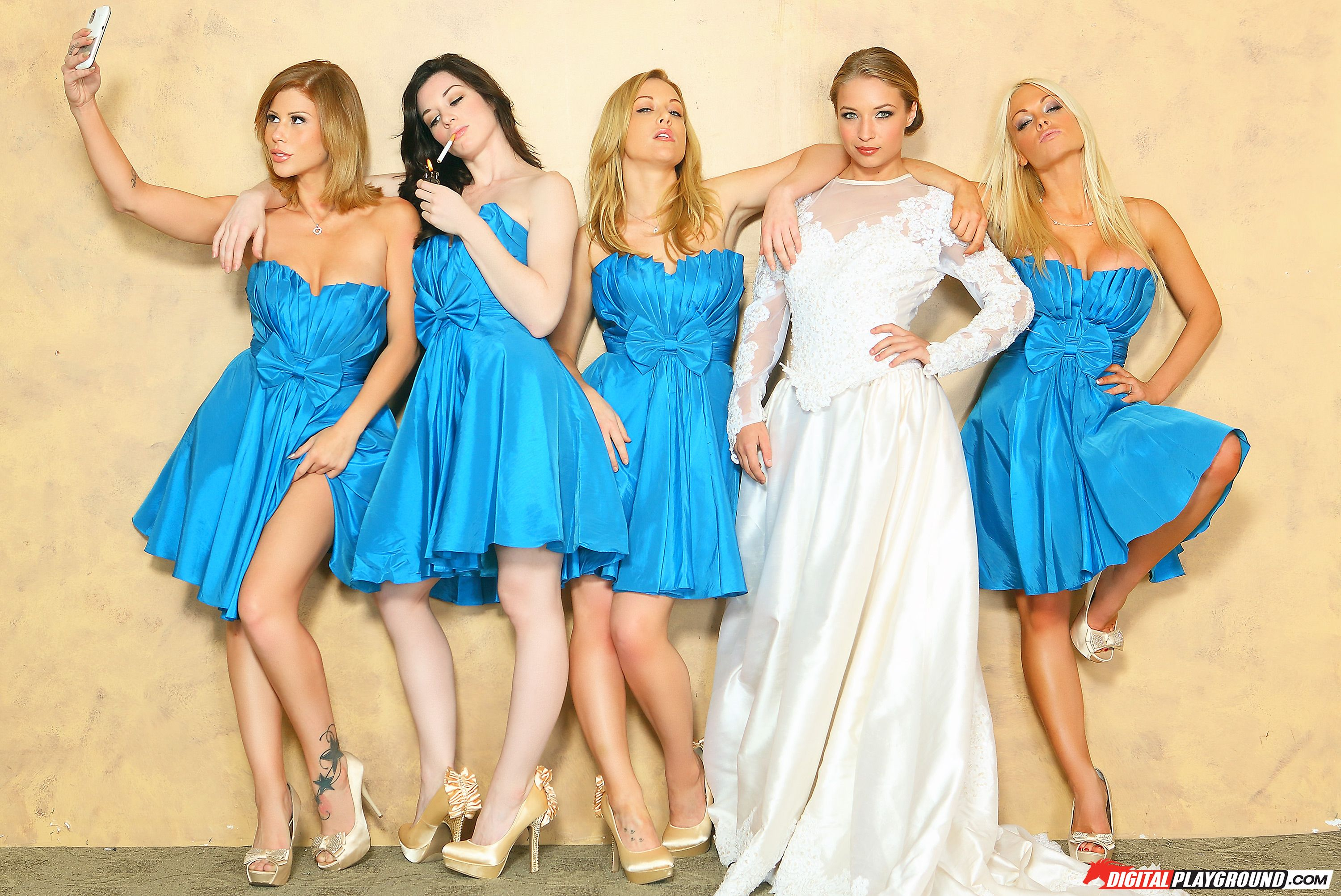 Cheap Wedding Dresses Brooklyn Ny: Alyssa Branch, Brooklyn Lee, Jesse Jane®, Kayden Kross