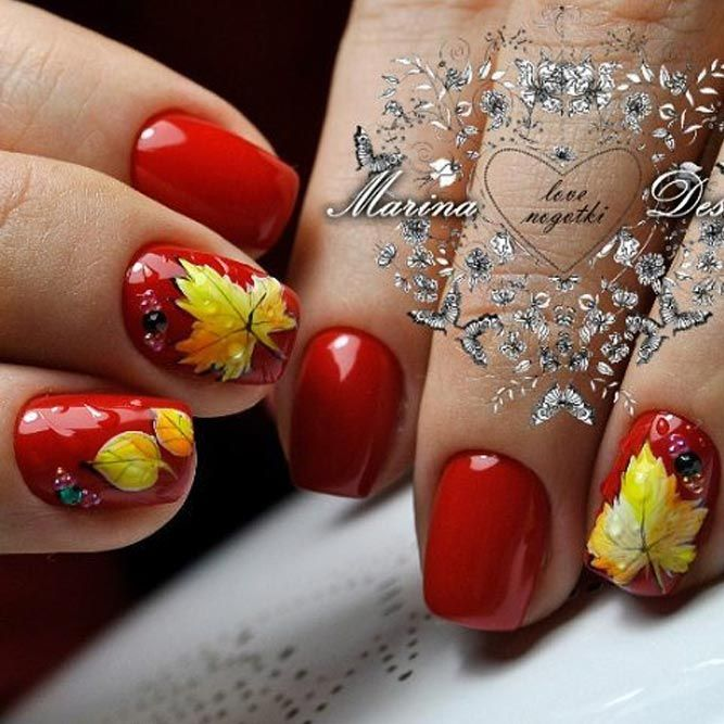 45 Must Try Fall Nail Designs and Ideas | Nail designs pictures and ...