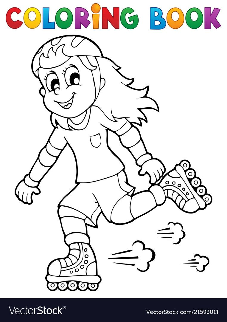 Coloring Book Outdoor Sport Theme 1 Eps10 Vector Illustration Download A Free Preview Or High Quality A Coloring Books Unicorn Coloring Pages Coloring Pages