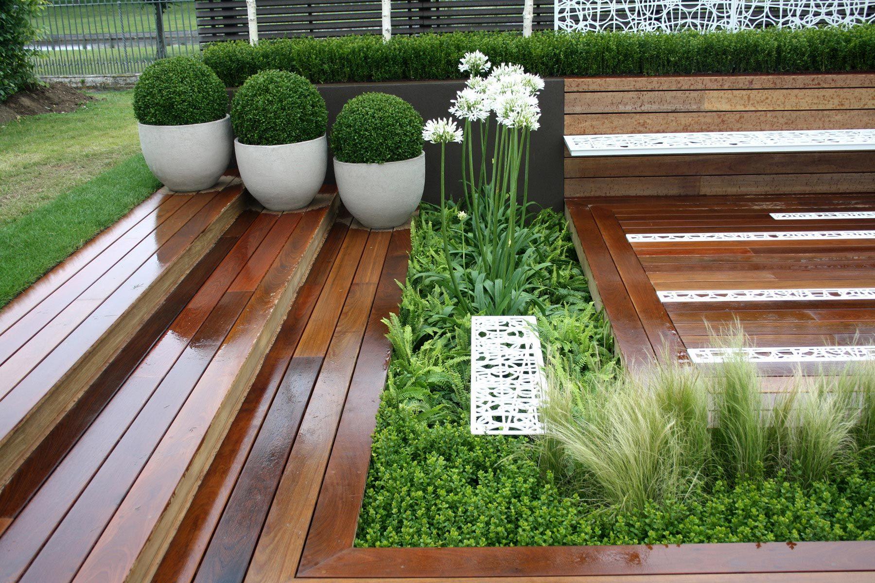 RHS Hampton Court Flower Show Courtyards