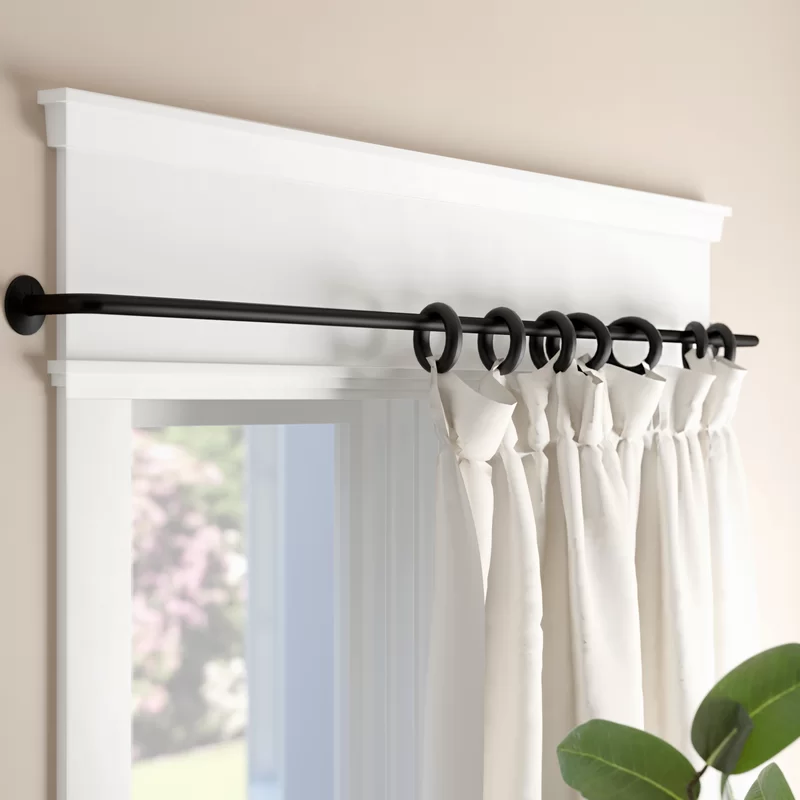 Andover Mills Balfour Wrap Curtain Rod Set Reviews Wayfair