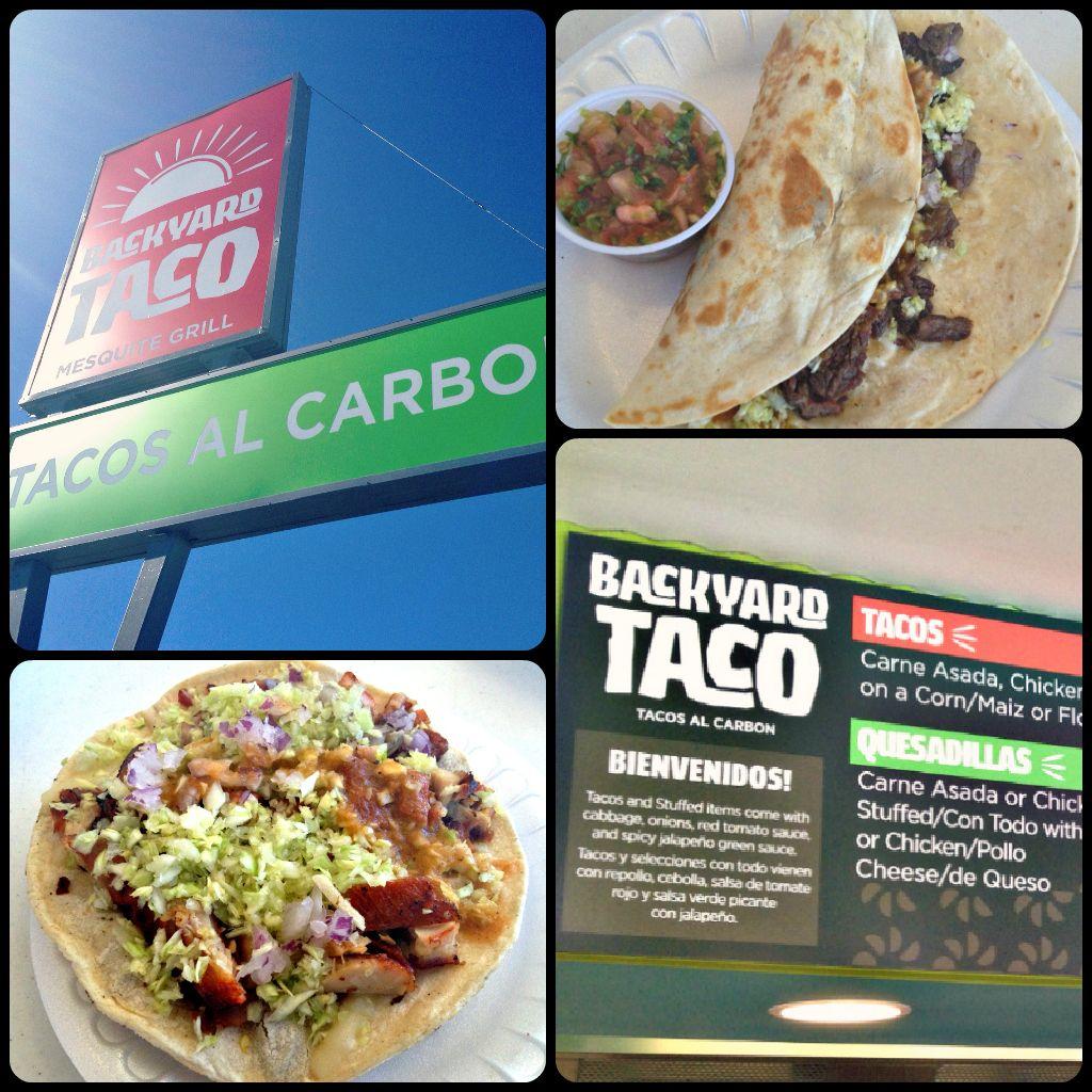New To Mesa! Backyard Taco Is So Delicioso! Offering A