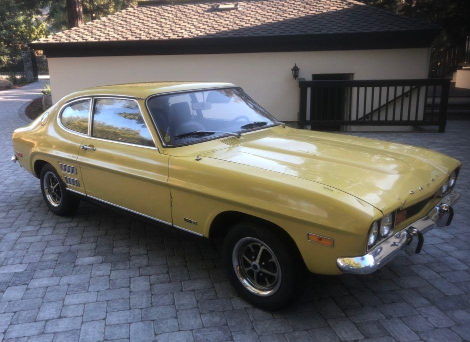 No Reserve 1972 Mercury Capri V6 4 Speed