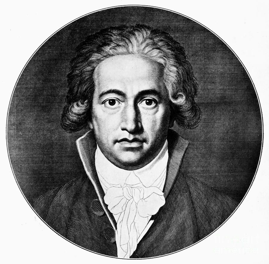Johann Goethe 1749 1832 Johann Wolfgang Von Goethe