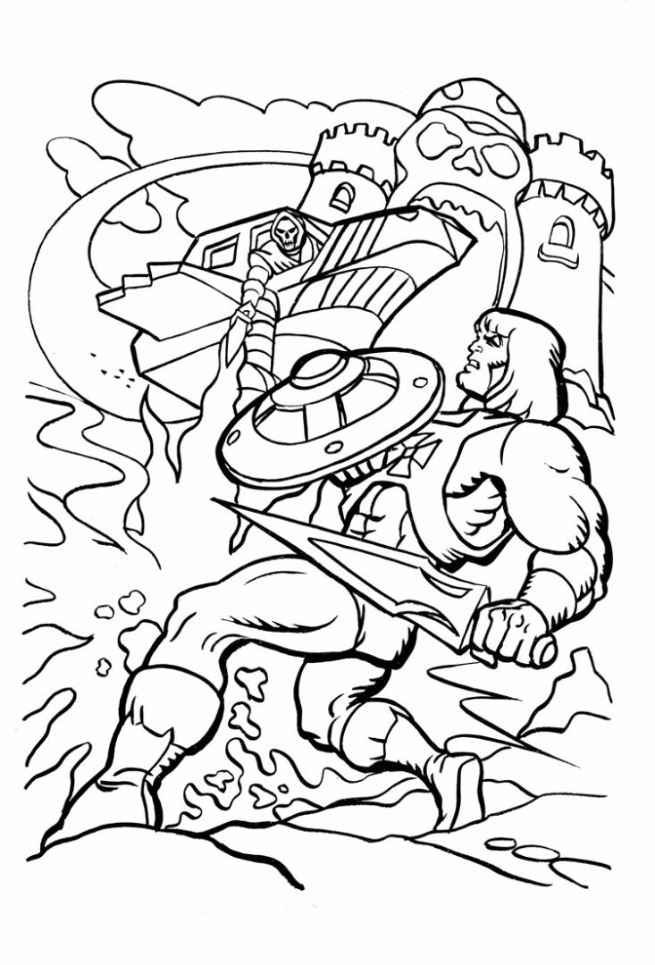 He-Man Coloring Pages - Best Coloring Pages For Kids in ...