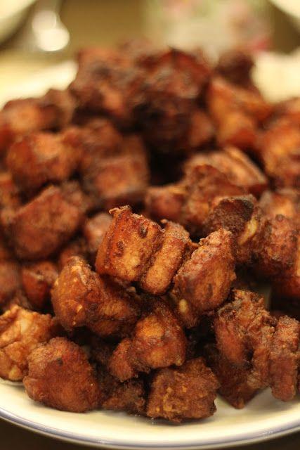 Mom made the best fried pork...